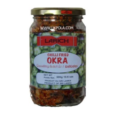 LARICH Chilli Fried Okra