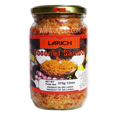 LARICH Red Coconut Sambol  375g
