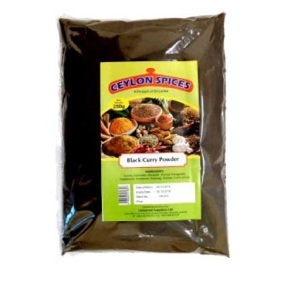 Ceylon Spices Black Curry Powder 250g